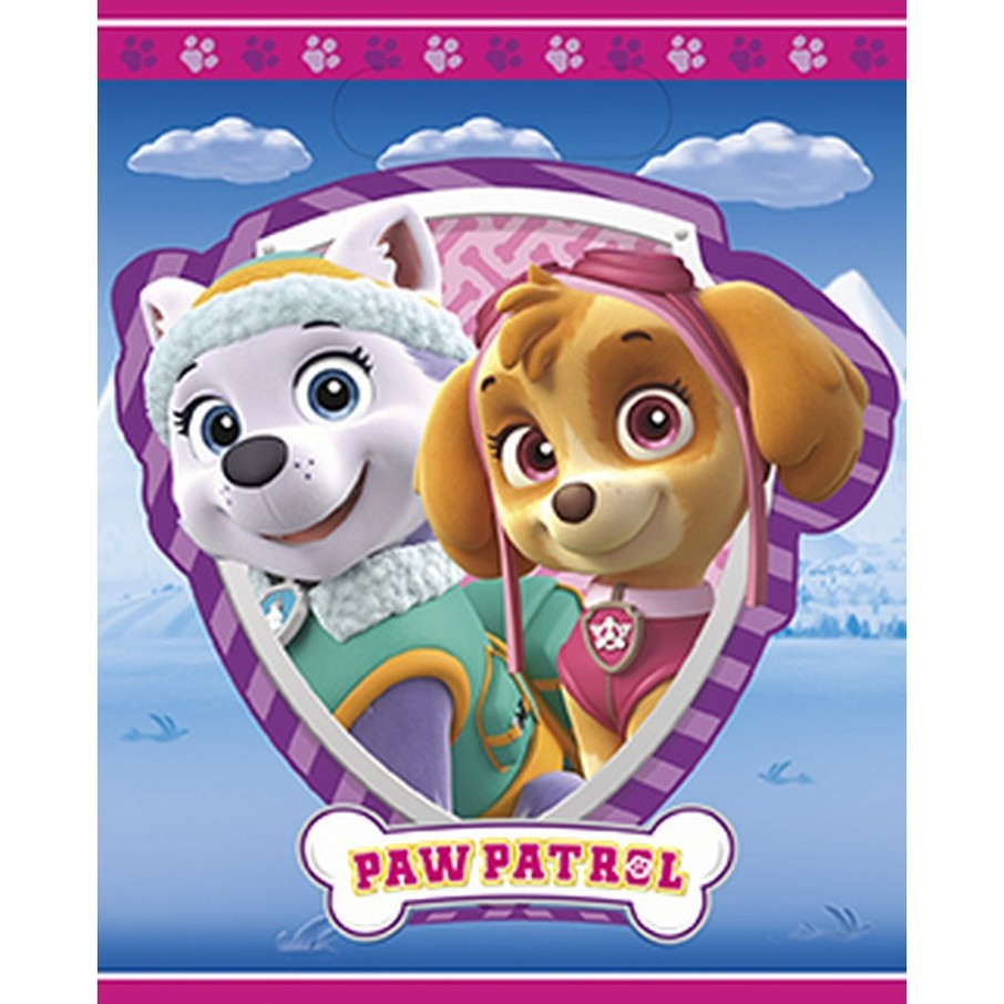 View larger image of Pink Paw Patrol Favor Bags (8)