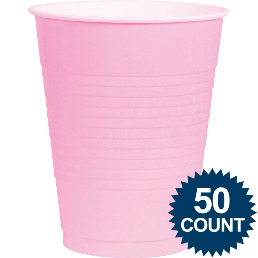 View larger image of Pink Plastic 16oz. Cup (50 Pack)