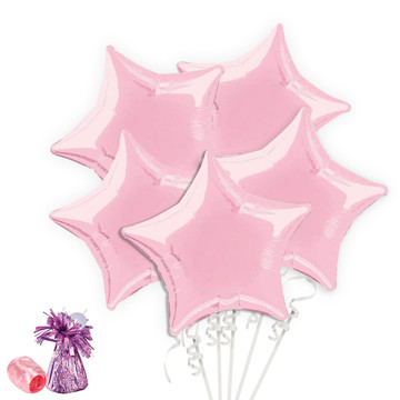 Pink Star Balloon Bouquet Kit