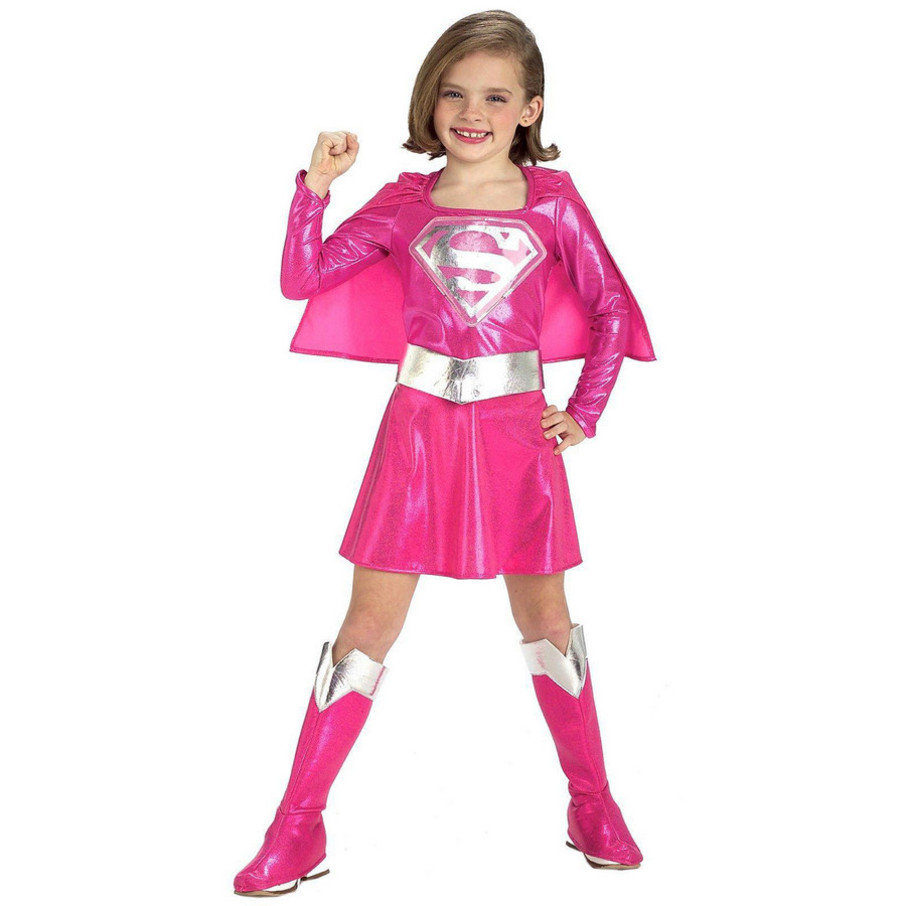 View larger image of Pink Supergirl Toddler/Child Costume