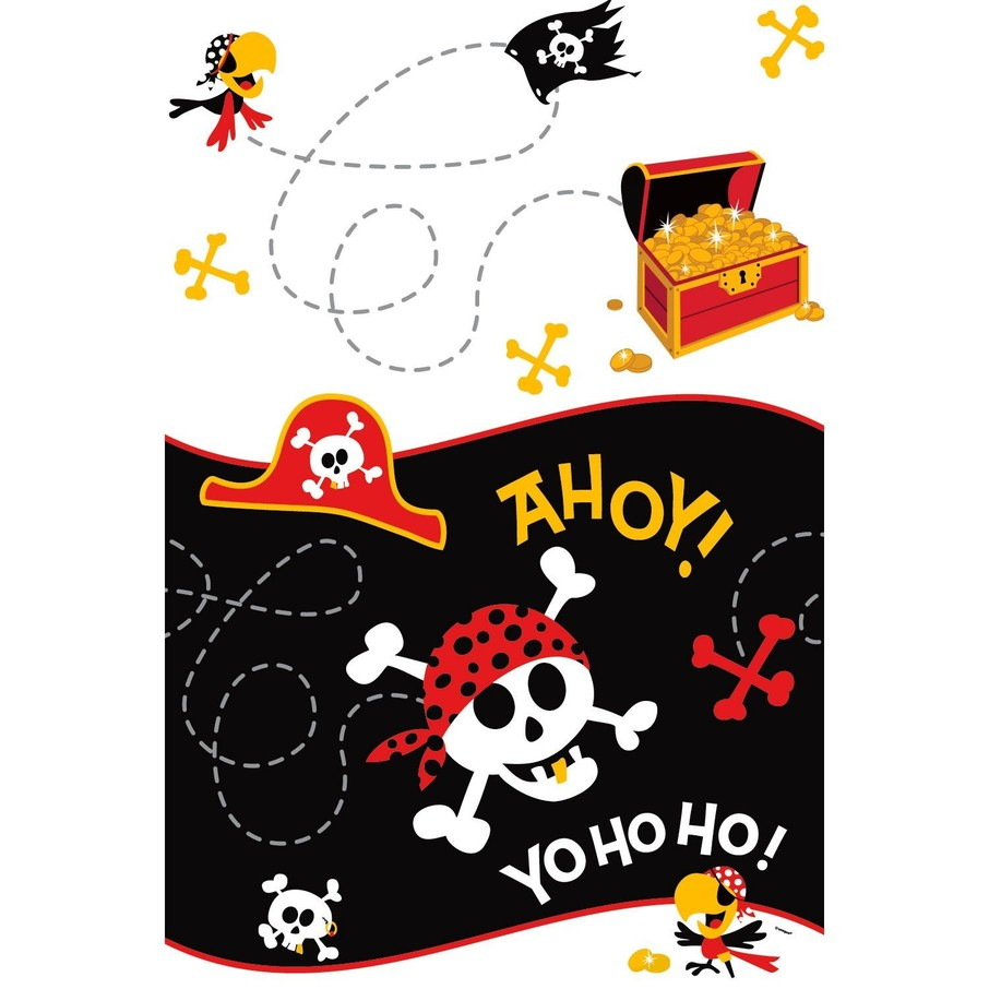 View larger image of Pirate Birthday Tablecover (Each)