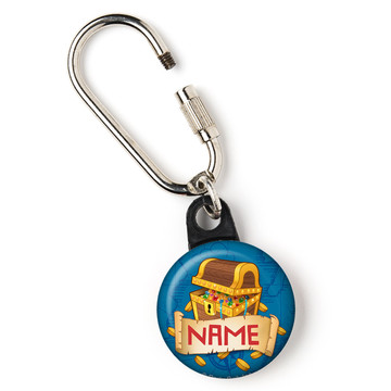 """Pirate Friends Personalized 1"""" Carabiner (Each)"""