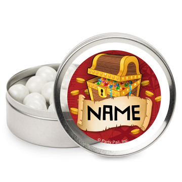 Pirate Friends Personalized Mint Tins (12 Pack)