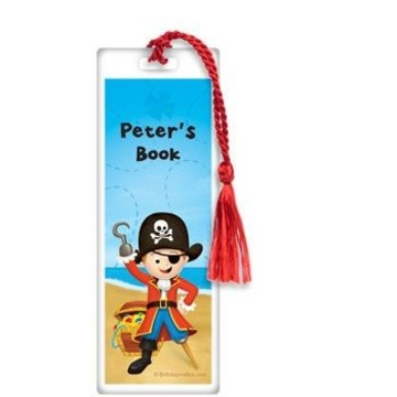 Pirate Personalized Bookmark (each)