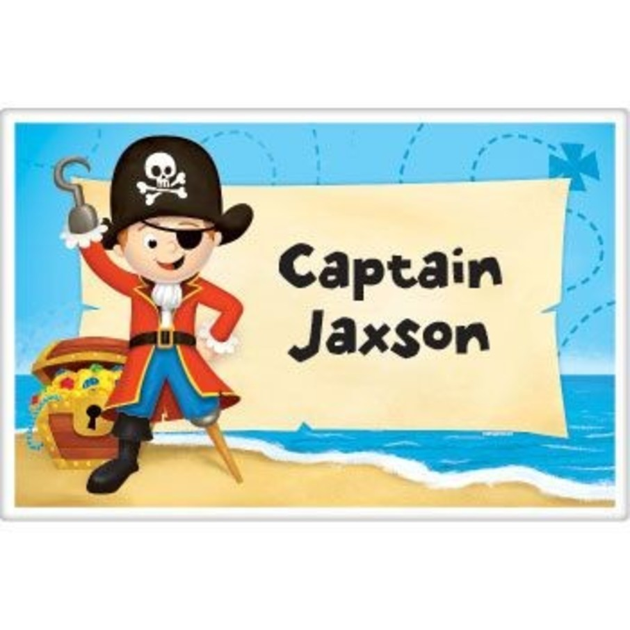 View larger image of Pirate Personalized Placemat (each)