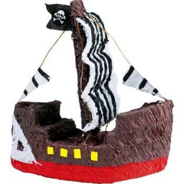 Pirate Ship Pinata (each)