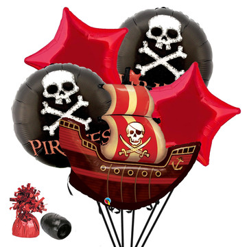 Pirates Balloon Bouquet Kit