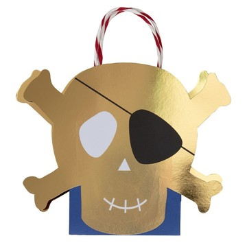 Pirates Bounty Paper Favor Bag, 8ct