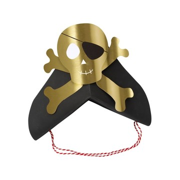 Pirates Bounty Party Hats, 8ct