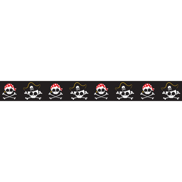 "Pirates Grosgrain Ribbon (7/8"")"
