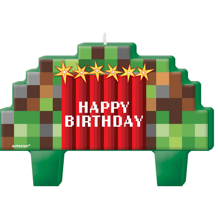 View larger image of Pixelated Birthday Candles (4)