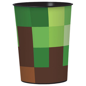 Pixelated Plastic Favor Cup (1)