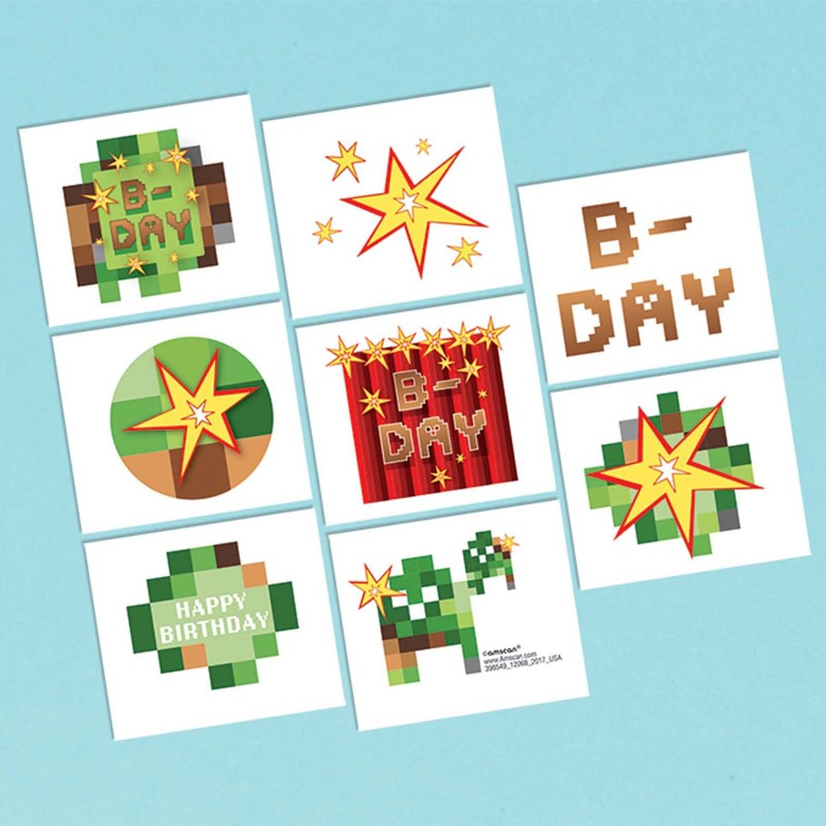 View larger image of Pixelated Tattoo Sheet (1)
