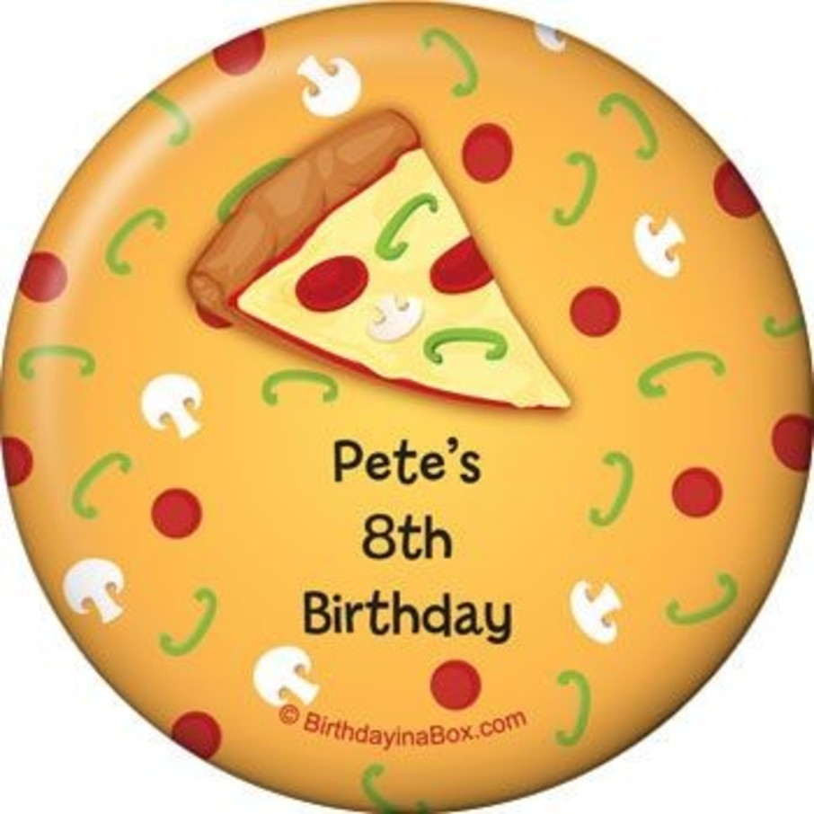 View larger image of Pizza Party Personalized Magnet (each)