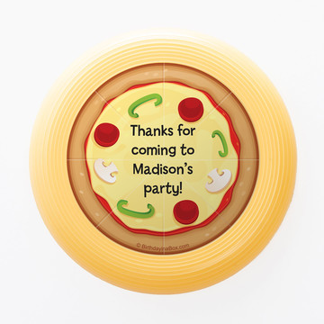 Pizza Party Personalized Mini Discs (Set of 12)