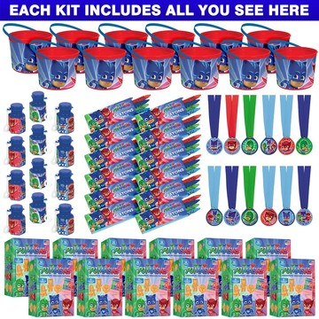PJ Masks Favor Kit (For 12 Guests)