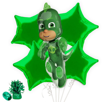 PJ Masks Gekko Balloon Bouquet Kit