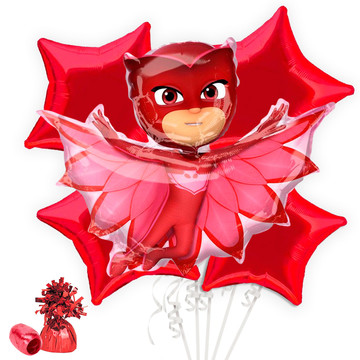 PJ Masks Owlette Balloon Bouquet Kit