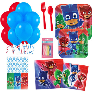 PJ Masks Party Essentials Kit, Serves 16
