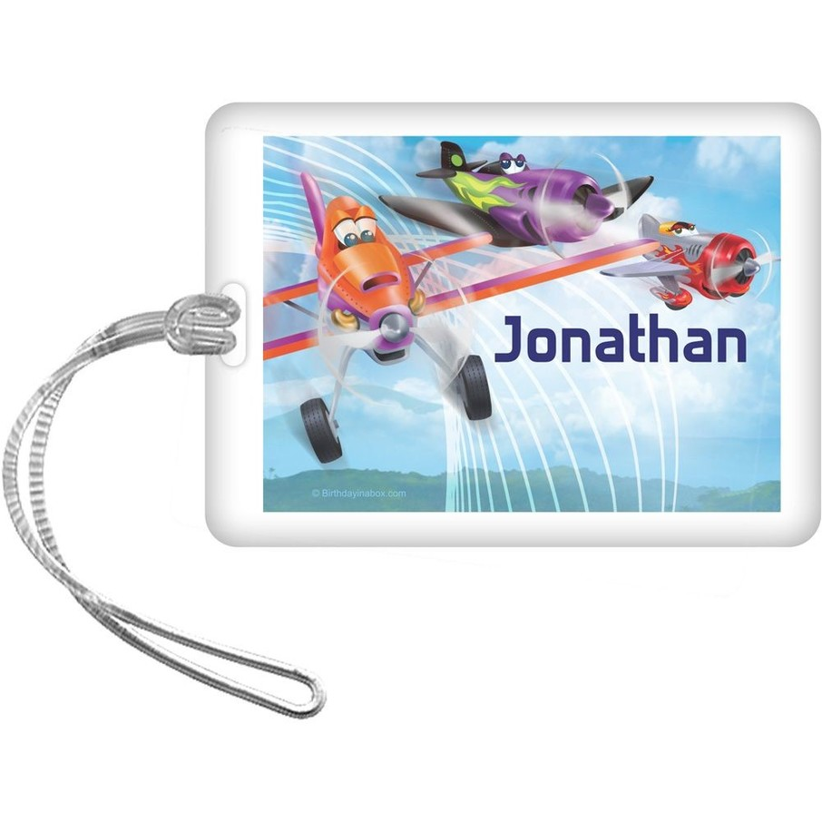View larger image of Planes Personalized Bag Tag (Each)