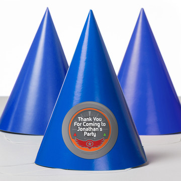 Planes Personalized Party Hats (8 Count)