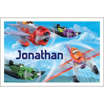 Planes Personalized Placemat (Each)