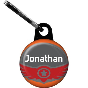 Planes Personalized Zipper Pull (Each)