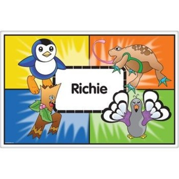 Pocket Monsters Personalized Placemat (each)