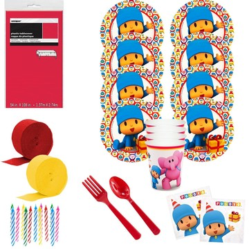 Pocoyo Deluxe Tableware Kit