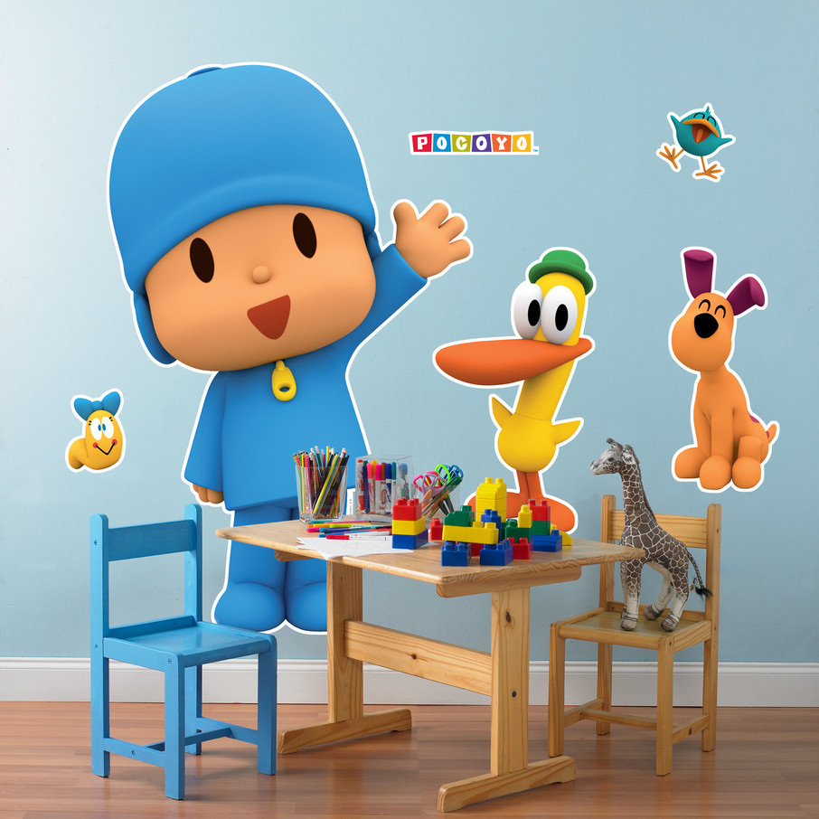 View larger image of Pocoyo Giant Wall Decals