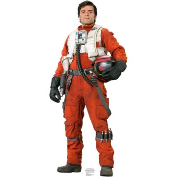 Poe (Star Wars VII: The Force Awakens) Cardboard Standup (Each)