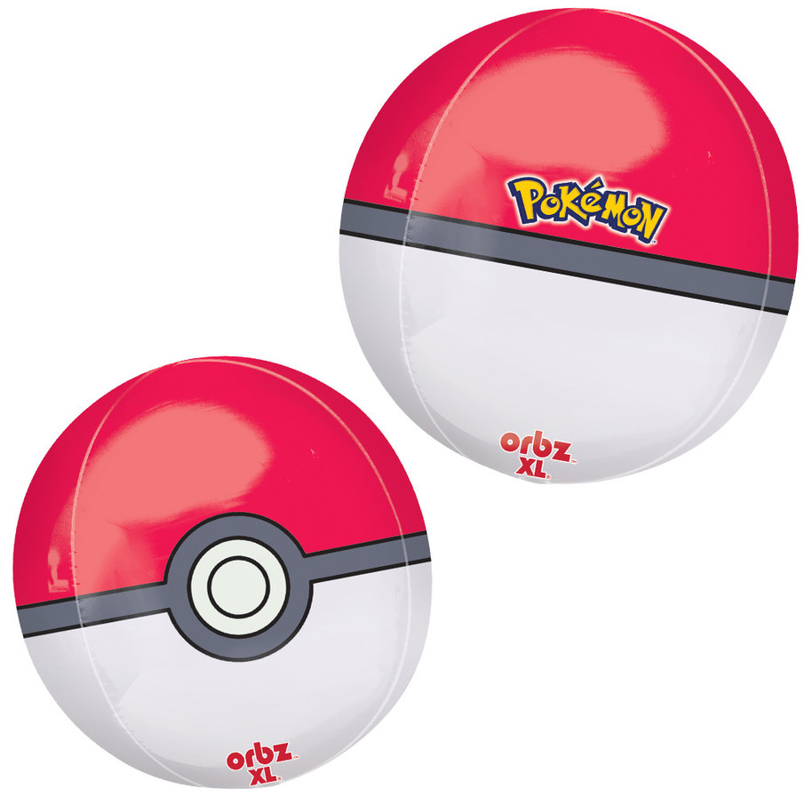 """View larger image of Pokeball 16"""" Orbz Balloon"""