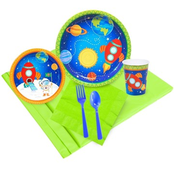 Rocket To Space 16 Guest Party Pack
