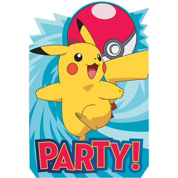Pokemon Core Invitations (8)