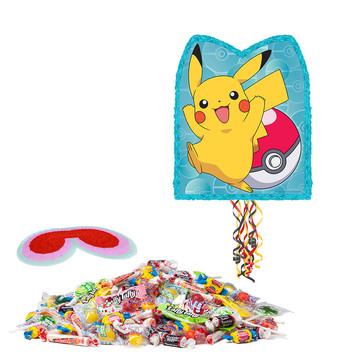 Pokemon Core Pull String Pinata Kit