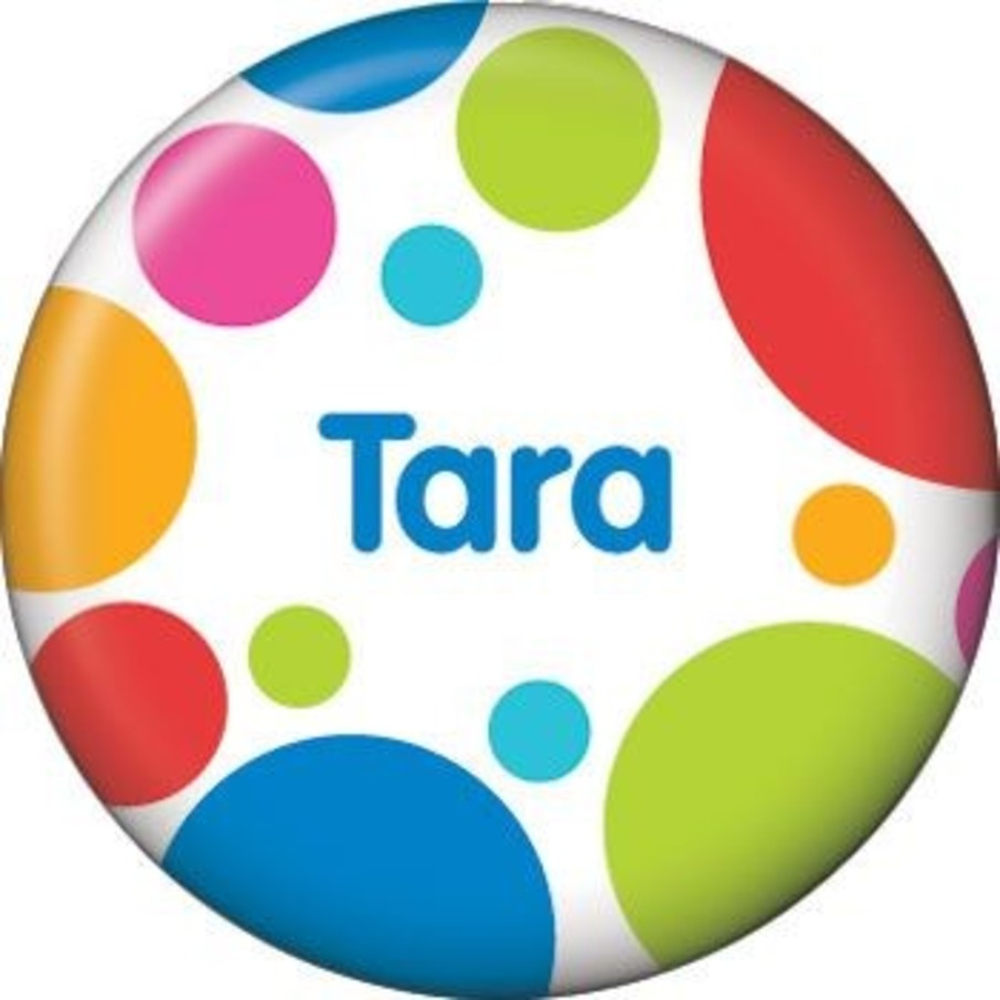 View larger image of Polka Dot Party Personalized Mini Magnet (each)