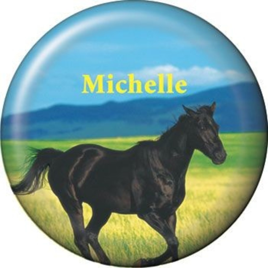 View larger image of Pony Party Personalized Button (each)