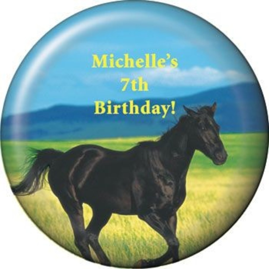 View larger image of Pony Party Personalized Magnet (each)