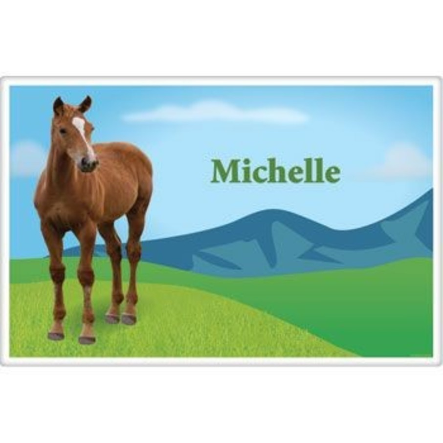 View larger image of Pony Party Personalized Placemat (each)