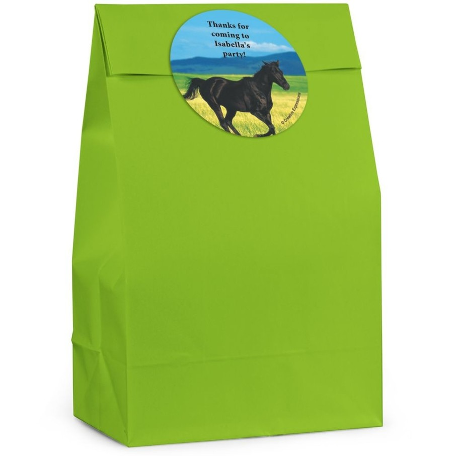 View larger image of Pony Personalized Favor Bag (Set Of 12)