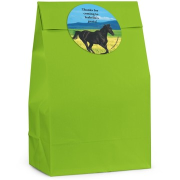 Pony Personalized Favor Bag (Set Of 12)