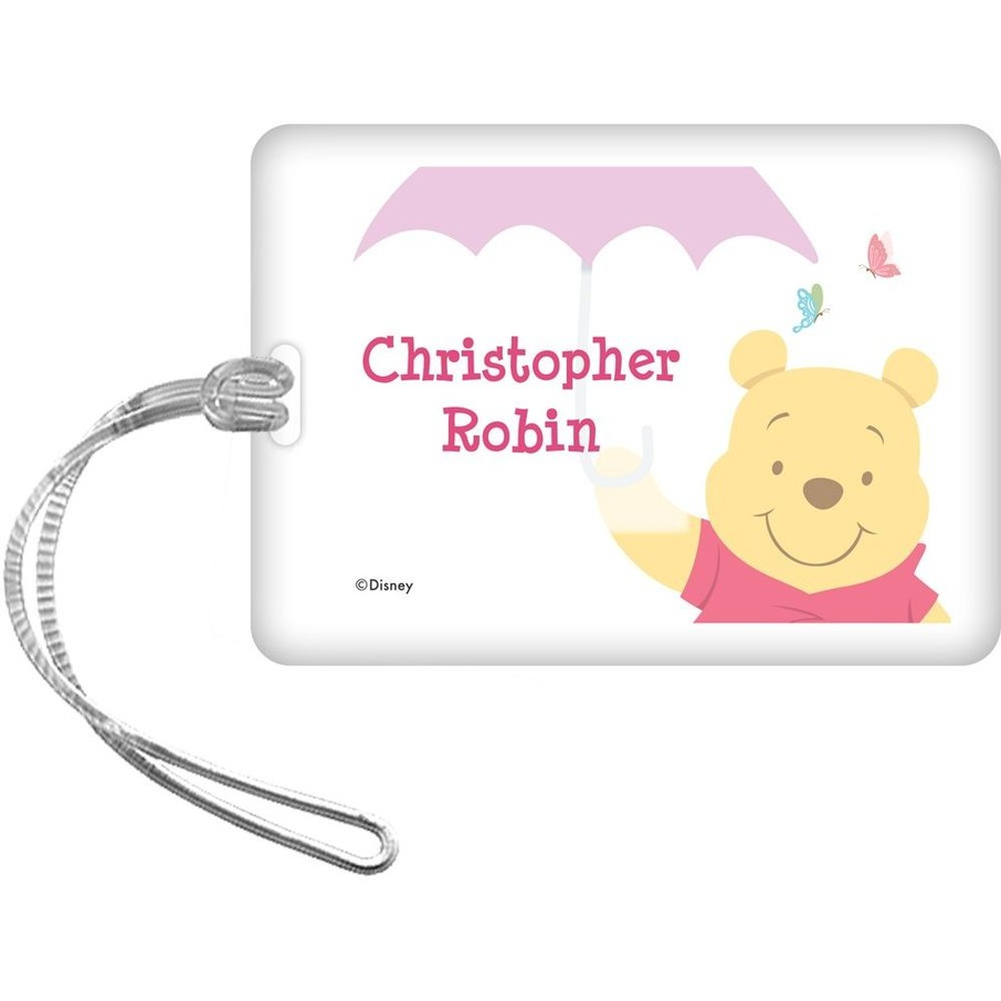 View larger image of Pooh Personalized Bag Tag (Each)