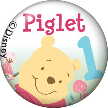 Pooh Personalized Mini Magnet (Each)