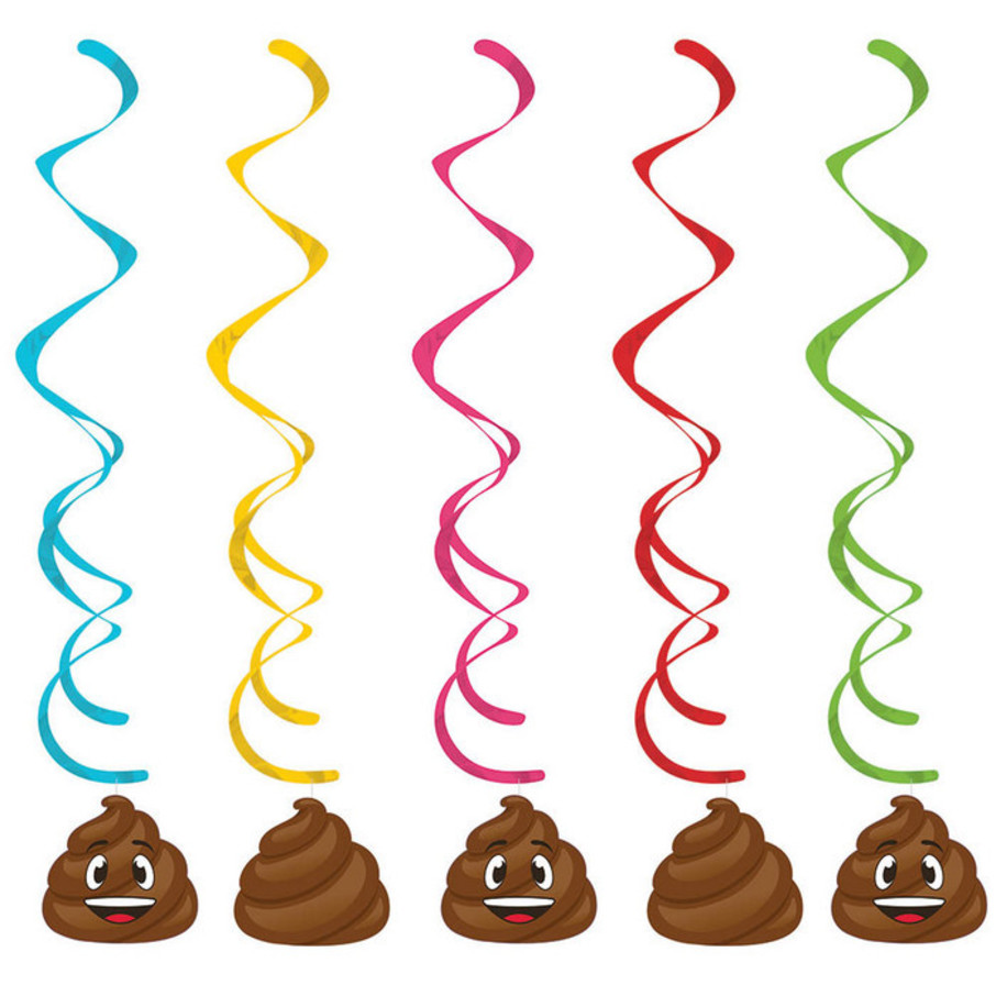 View larger image of Poop Emojions Dizzy Dangler (5)