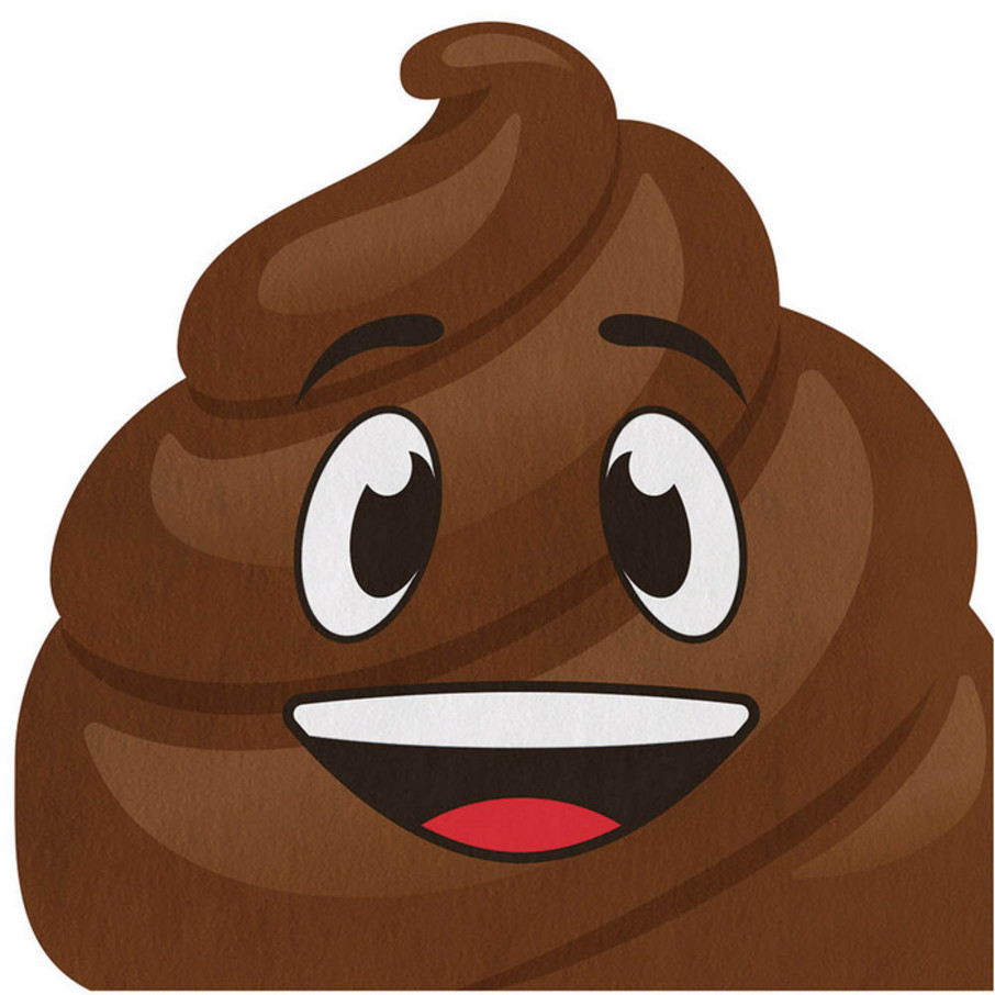 View larger image of Poop Emojions Shaped Luncheon Napkin (16)