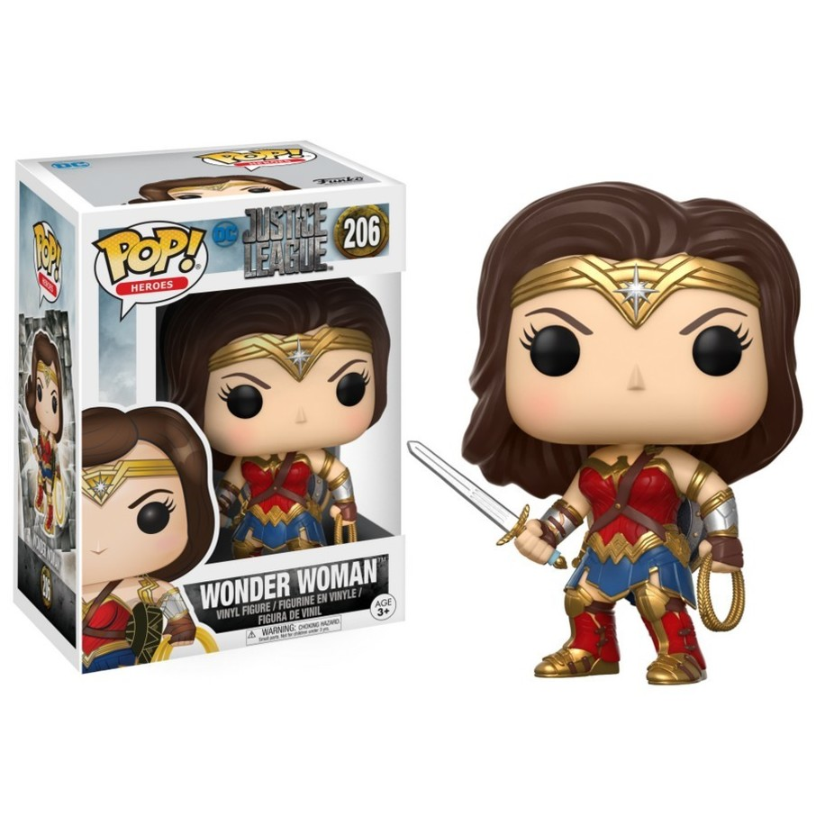 View larger image of Funko POP Movies: DC - Justice League - Wonder Woman