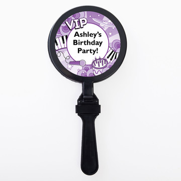 Pop Star Personalized Clappers (Set of 12)