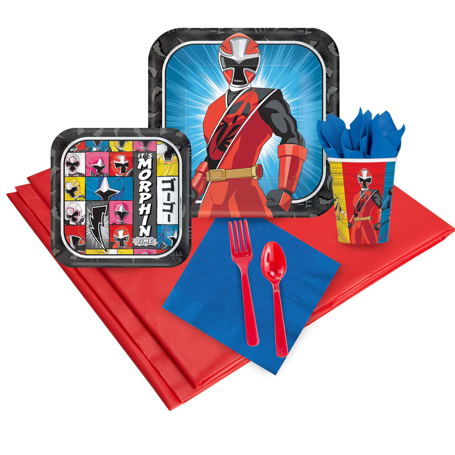 View larger image of Power Rangers Ninja Steel 24 Guest Party Pack