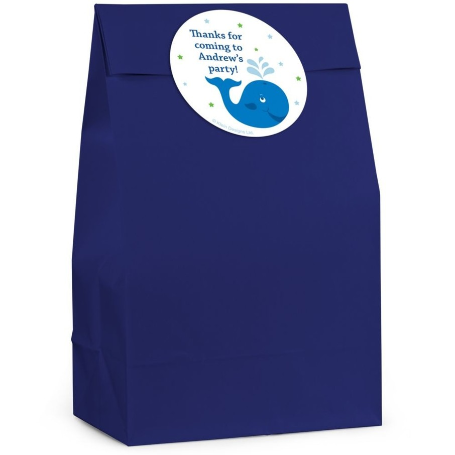 View larger image of Preppy Blue Ocean Personalized Favor Bag (Set Of 12)
