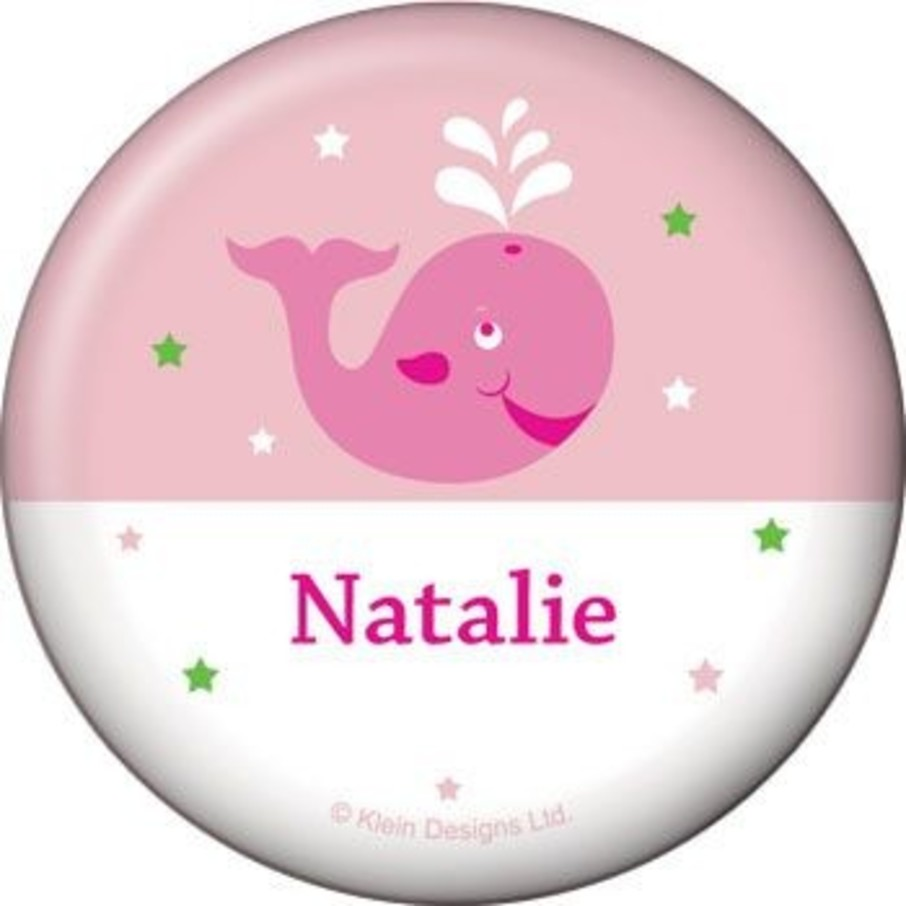 View larger image of Preppy Pink Party Personalized Button (each)